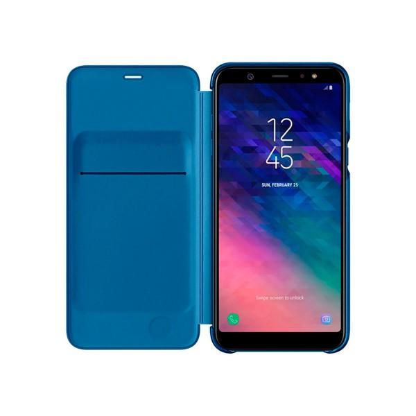 Samsung wallet cover azul funda samsung galaxy a6 (2018)