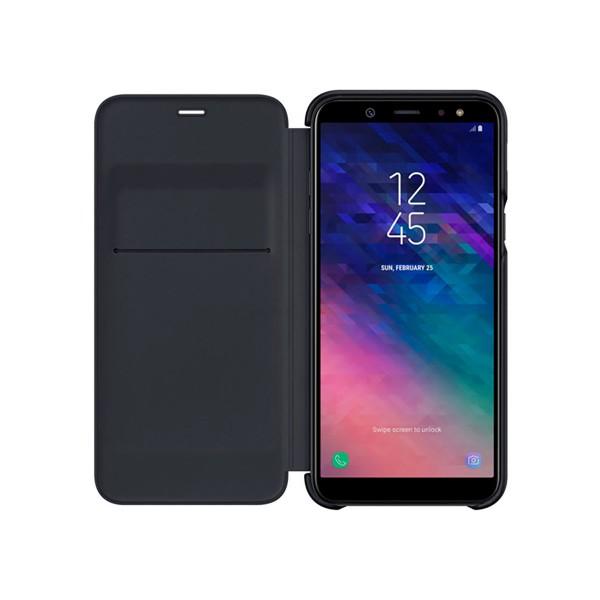 Samsung wallet cover negro funda samsung galaxy a6 (2018)