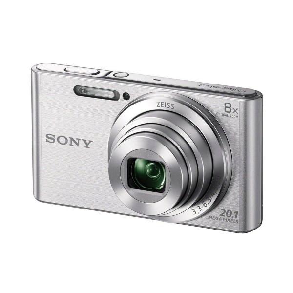 Sony dscw830s cámara de fotos 20.1 mp zoom 8x plata