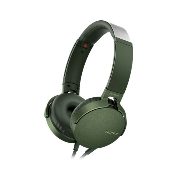 Sony mdrxb550apg verde auriculares extra bass