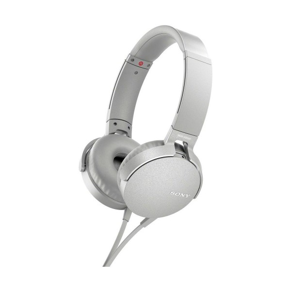 Sony mdrxb550apw blanco auriculares extra bass