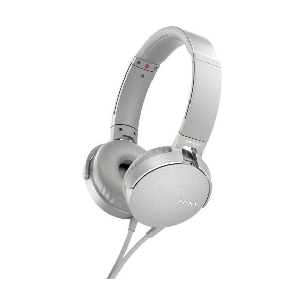 Sony mdrxb550apw blanco auriculares extra bass