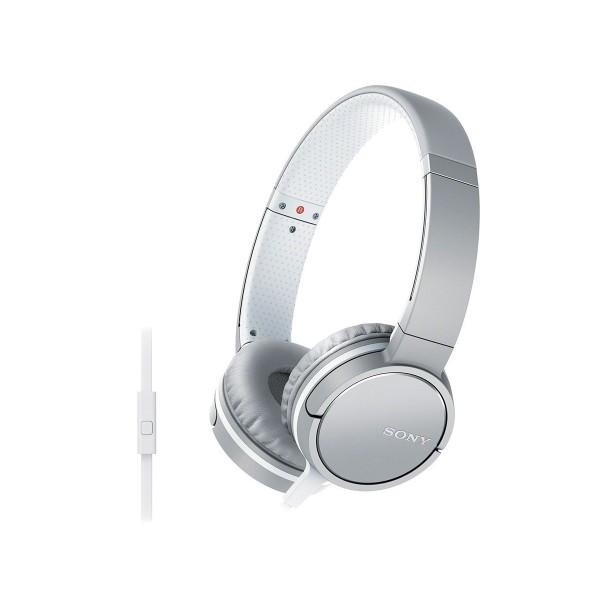 Sony mdrzx660ap auriculares hifi con manos libres blanco