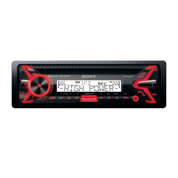 Sony mex-m100bt receptor de cd 4x100w bluetooth nfc control por voz dsee