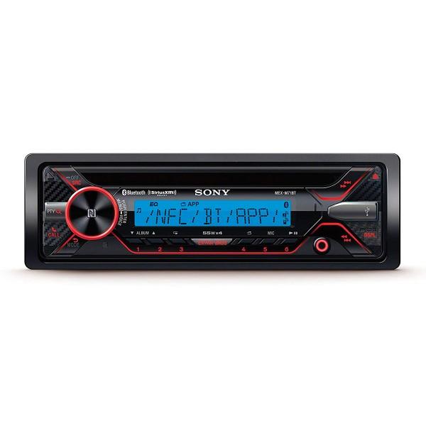 Sony mex-m71bt receptor de cd acuático con bluetooth 4x55w para el coche con control por voz usb y aux