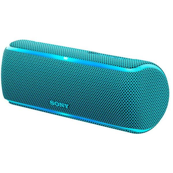 Sony srs-xb21 azul altavoz inalámbrico nfc bluetooth sonido extra bass live resistencia ip67