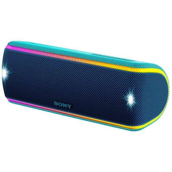 Sony srs-xb31 azul altavoz inalámbrico nfc bluetooth sonido extra bass live resistencia ip67