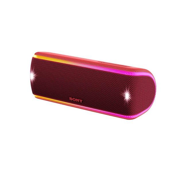 Sony srs-xb31 rojo altavoz inalámbrico nfc bluetooth sonido extra bass live resistencia ip67