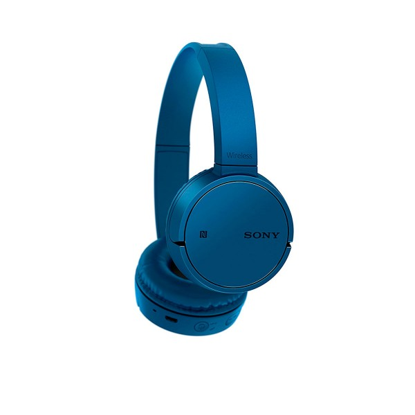 Sony wh-ch500 azul auriculares inalámbricos bluetooth nfc micrófono integrado diseño giratorio 20 horas de autonomía