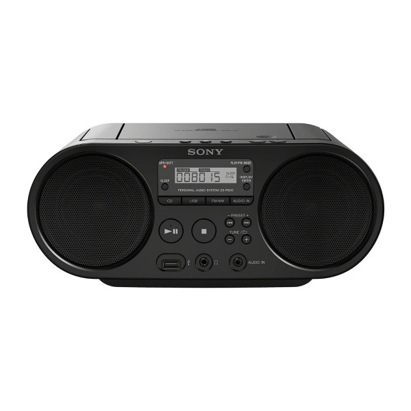 Sony zsps50b radio cd mp3 usb negro