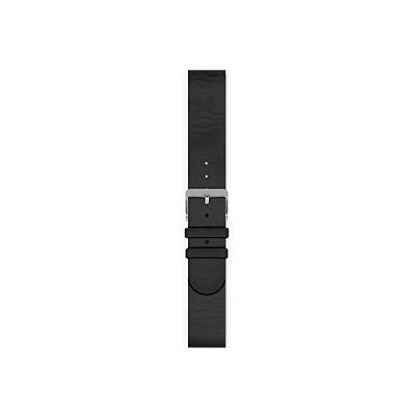 Spc 960pn smartee leather bracelet negro correa para reloj en piel de vacuno