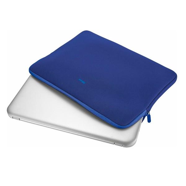 Trust primo soft sleeve azul funda protectora suave para portátiles de 15,6