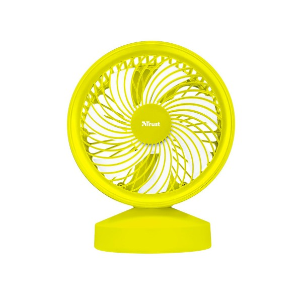 Trust ventu usb cooling fan amarillo ventilador de refrigeración portátil alimentación por usb