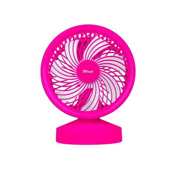 Trust ventu usb cooling fan rosa ventilador de refrigeración portátil alimentación por usb