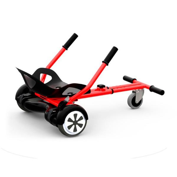 Whinck w-kart rojo gokart accesorio adaptable para scooters eléctricos de 6.5'' a 10''