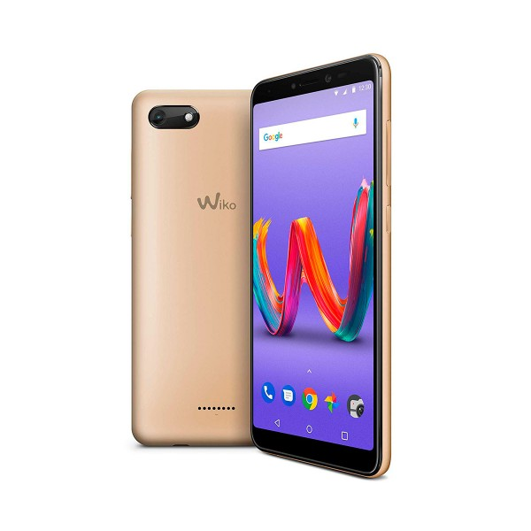 Wiko harry2 dorado móvil 4g dual sim 5.45'' ips hd+/4core/16gb/2gb ram/13mp/5mp