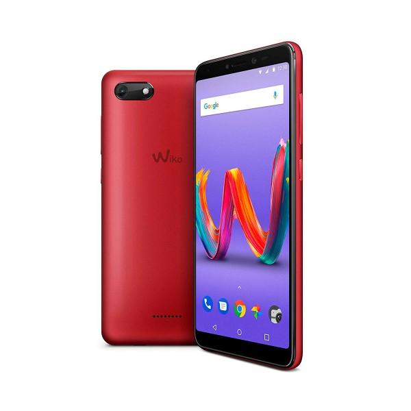 Wiko harry2 rojo cereza móvil 4g dual sim 5.45'' ips hd+/4core/16gb/2gb ram/13mp/5mp