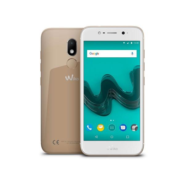 Wiko wim lite dorado móvil 4g dual sim 5'' ips fhd/8core/32gb/3gb ram/13mp/16mp