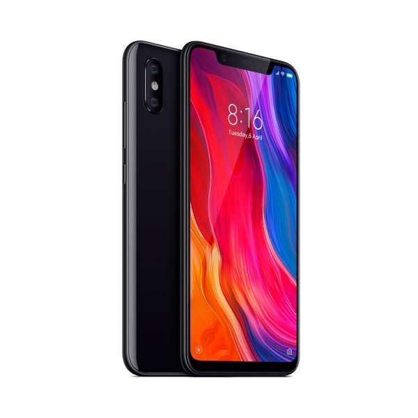 Xiaomi mi 8 negro móvil 4g dual sim 6.21'' samoled fhd+/8core/64gb/6gb ram/12mp+12mp/20mp
