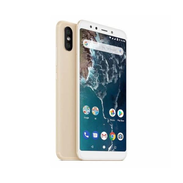 Xiaomi mi a2 dorado móvil 4g dual sim 5.99'' ips fhd+/8core/128gb/6gb ram/20mp+12mp/20mp