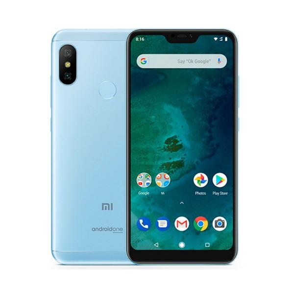 Xiaomi mi a2 lite azul móvil 4g dual sim 5.84'' ips fhd+/8core/64gb/4gb ram/12mp+5mp/5mp
