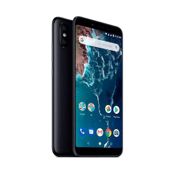 Xiaomi mi a2 negro móvil 4g dual sim 5.99'' ips fhd+/8core/128gb/6gb ram/20mp+12mp/20mp