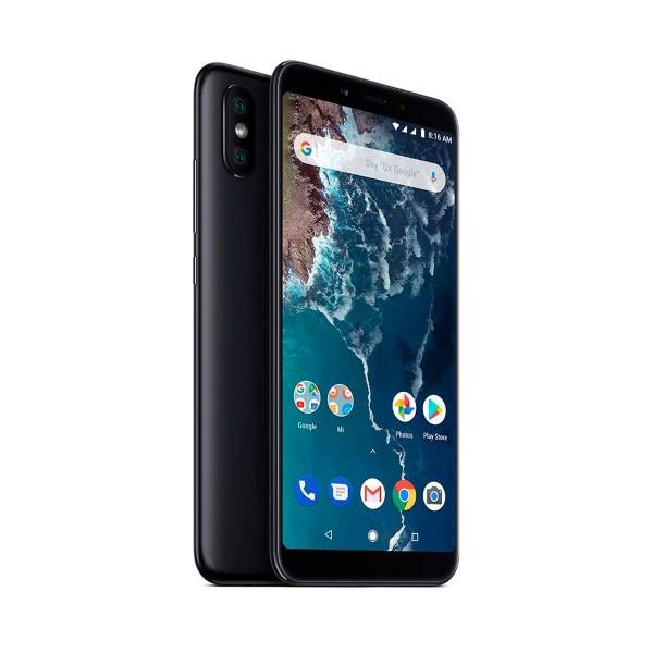 Xiaomi mi a2 negro móvil 4g dual sim 5.99'' ips fhd+/8core/64gb/4gb ram/20mp+12mp/20mp