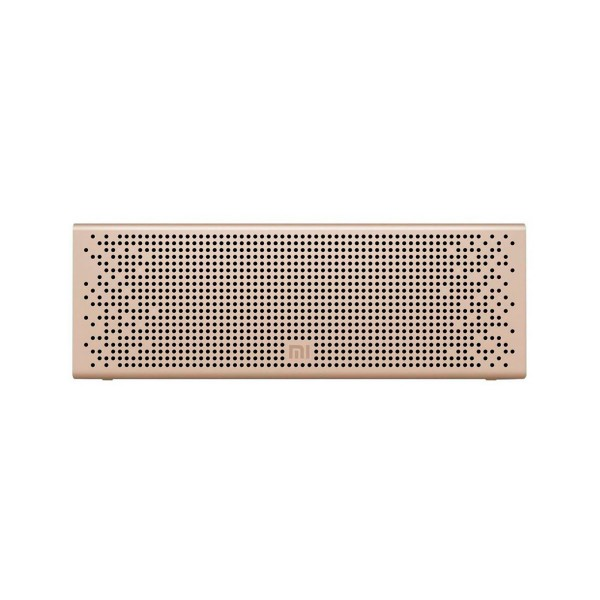 Xiaomi mi bluetooth speaker dorado altavoz inalámbrico bluetooth 6w rms aux función manos libres