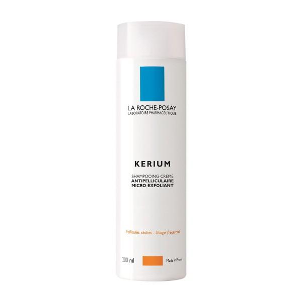La roche posay kerium champu gel micro-exfoliante cabello seco 200ml