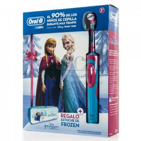 ORAL B STAGES POWER FROZEN + ESTUCHE PROMO