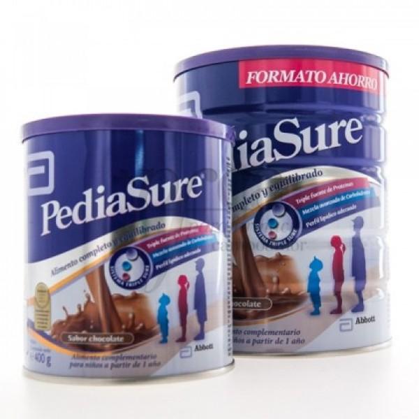 PEDIASURE CHOCOLATE 850GR + BOTE 400GR PROMO