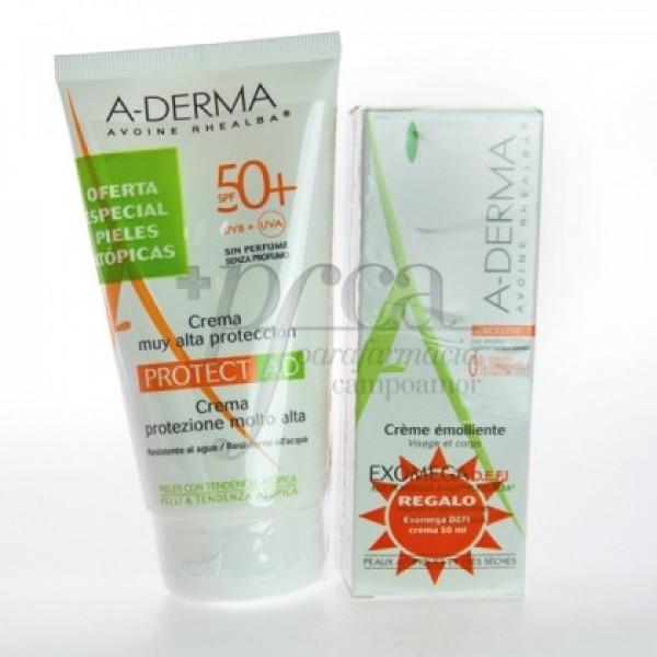 ADERMA PROTECT AD SPF50 + EXOMEGA CREMA PROMO
