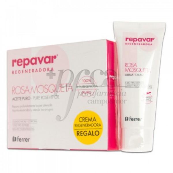 REPAVAR ACEITE ROSA MOSQUETA 15ML + REGALO PROMO