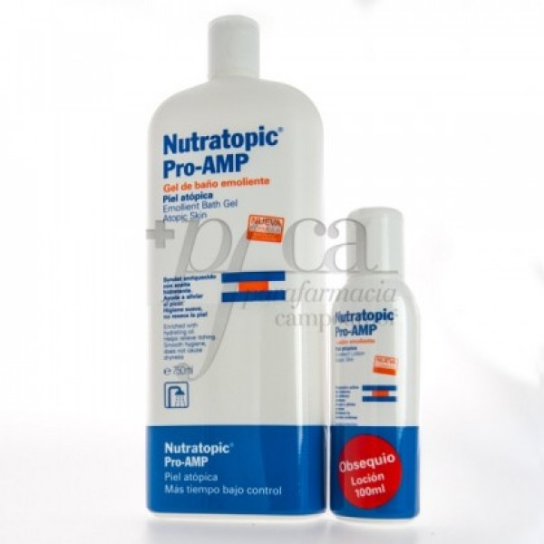 NUTRATOPIC PRO-AMP GEL 750ML + REGALO PROMO