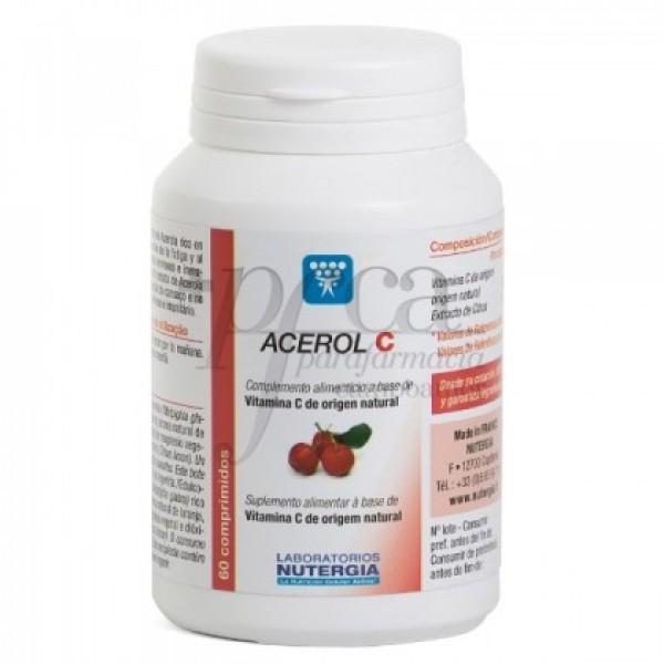 ACEROL C NUTERGIA 60 COMPS