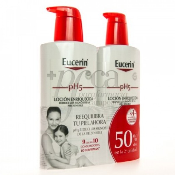 EUCERIN PH5 LOCION ENRIQUECIDA 2X 400ML PROMO