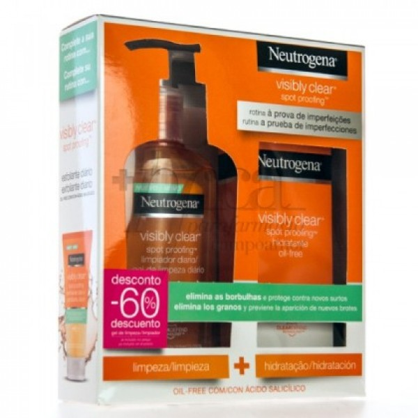 NEUTROGENA PACK VISIBLE CLEAR RUTINA PROMO