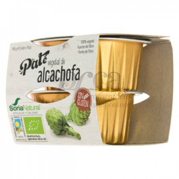 PATE VEGETAL DE ALCACHOFA 2X 50G R52033