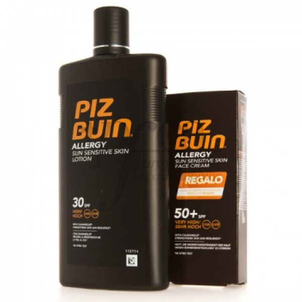 PIZ BUIN ALLERGY LOTION SPF30 FACIAL SPF50 PROMO