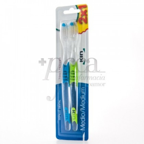 CEPILLO DENTAL KIN MEDIO 2X1 PROMO