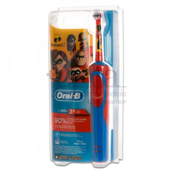 ORAL-B CEPILLO ELECTRICO LOS INCREIBLES