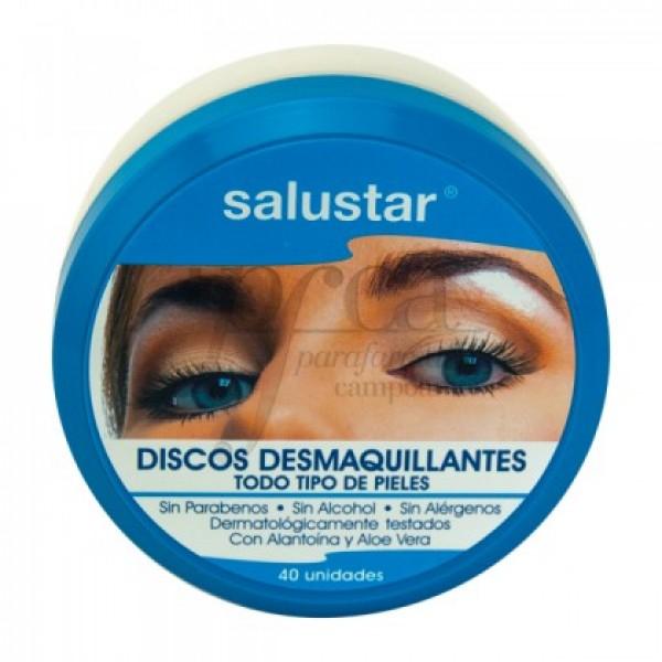 SALUSTAR 40 DISCOS DESMAQUILLANTES