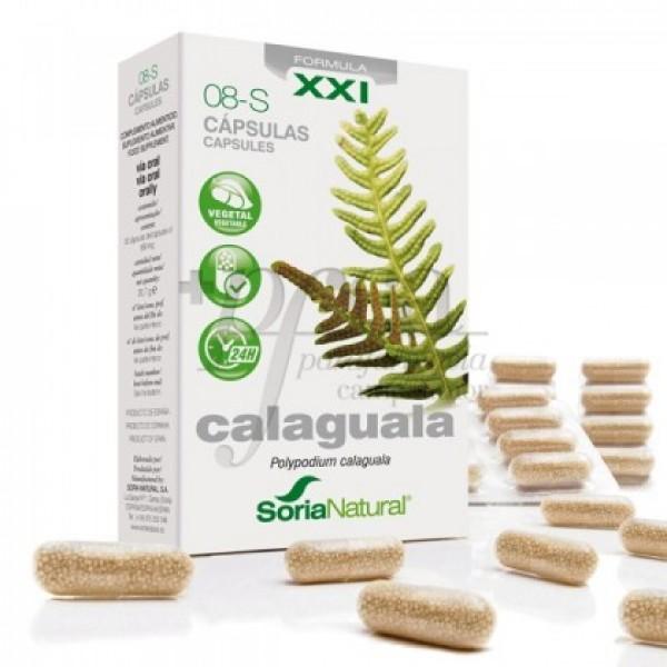 CALAGUALA 08-S XXI RETARD 30 CAPS SORIA NATURAL
