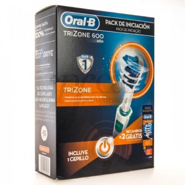 CEPILLO ORAL-B TRIZONE 600 + 2 RECAMBIOS PROMO