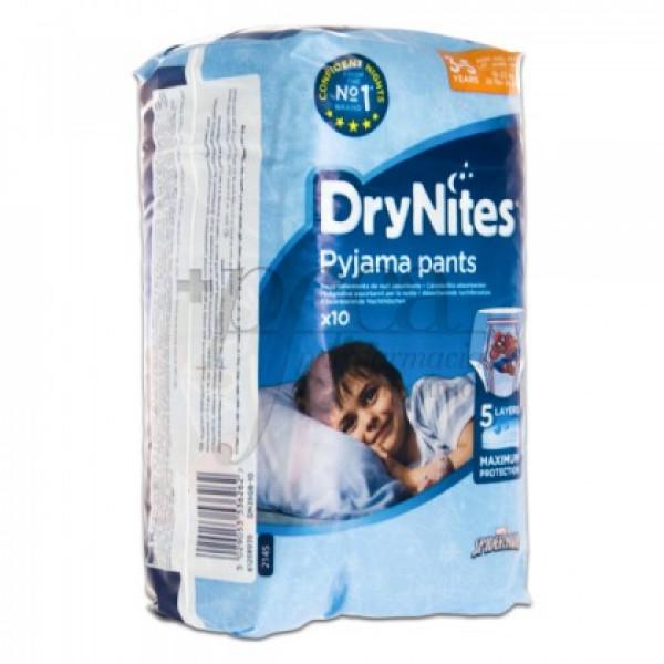 DRYNITES NIÑO PYJAMA PANTS 3-5 AÑOS 10U