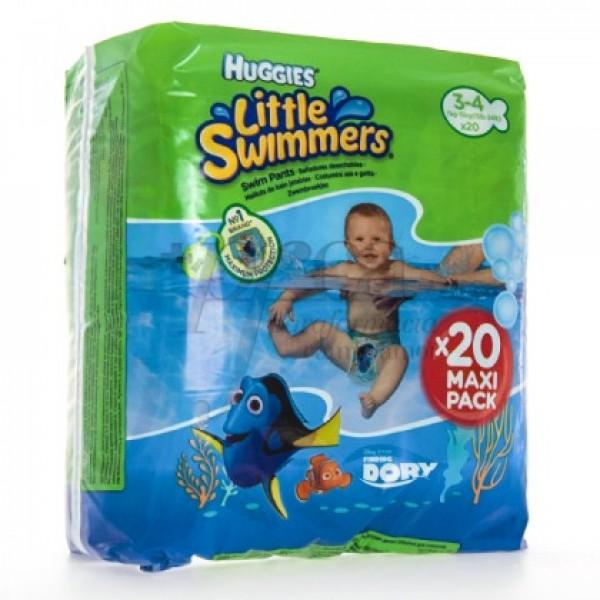 HUGGIES LITTLE SWIMMERS T/3-4 7-15KG 20U