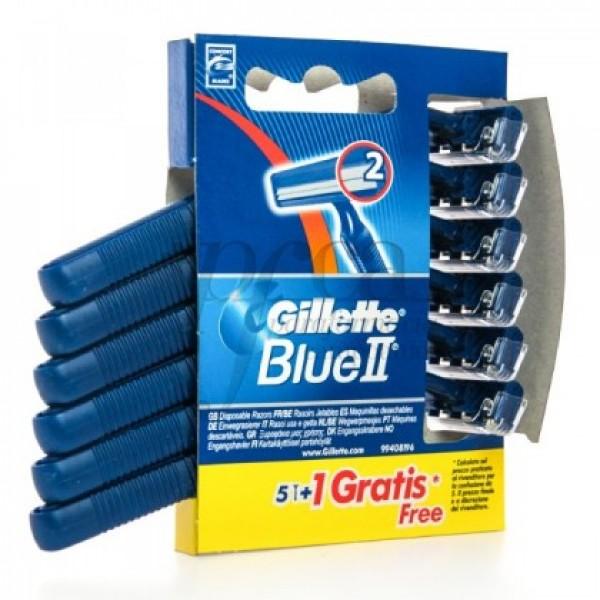 GILLETTE BLUE II MAQUINA 5+1U