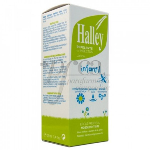 HALLEY INFANTIL LOCION REPELENTE 2A+ 100ML