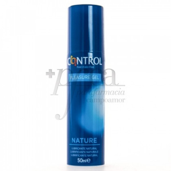CONTROL PLEASURE GEL LUBRICANTE NATURAL 50ML