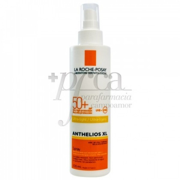 ANTHELIOS SPRAY SOLAR SPF50 ULTRA LIGERO 200ML
